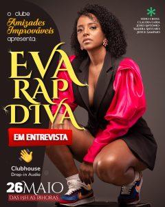 Cartaz Eva RapDiva