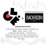 Clé e BackRoom um passo grande para música