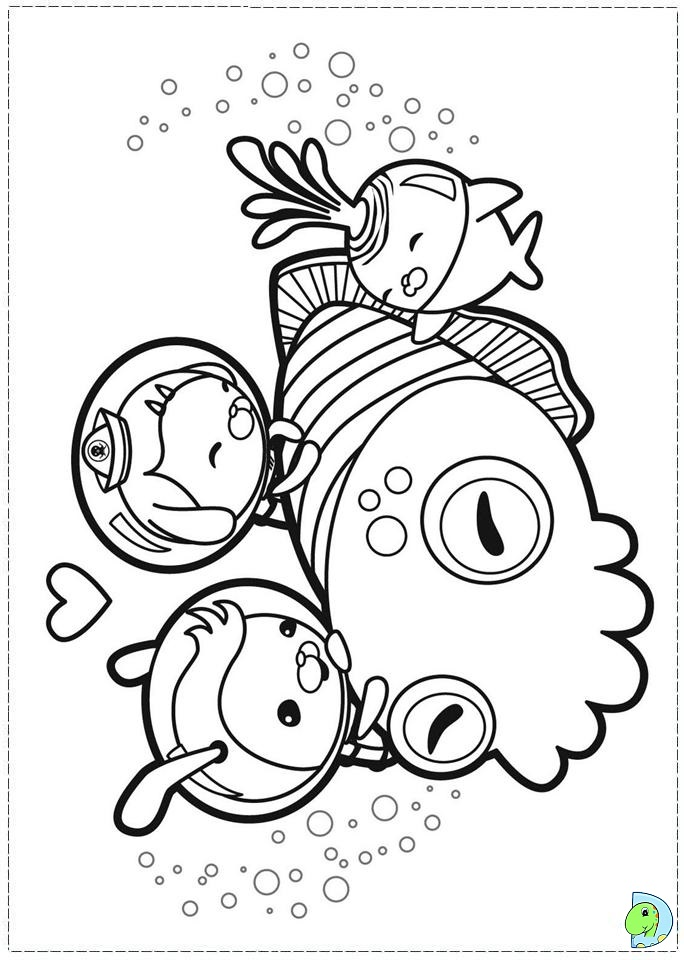 octonauts coloring pages dashi octonauts octopod coloring pages