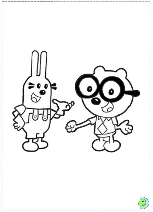 wow wow wubbzy coloring pages # 42