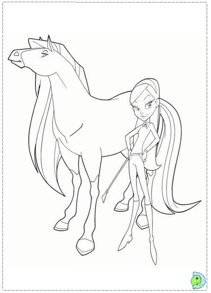 Coloring Pages Horseland Coloringpages1001 Com Free