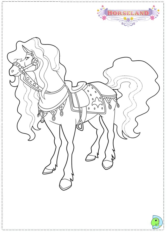 horseland coloring pages 17 jpg