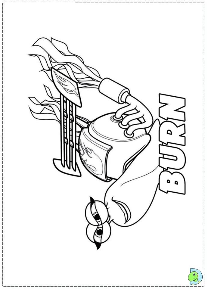 turbo coloring page dinokids