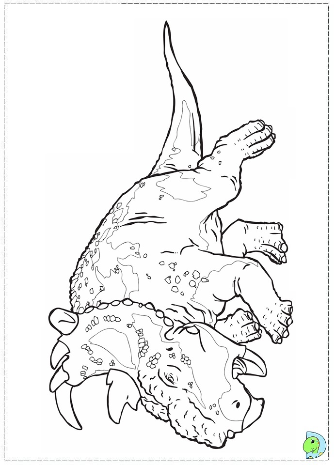 walking with dinosaurs coloring page dinokids org