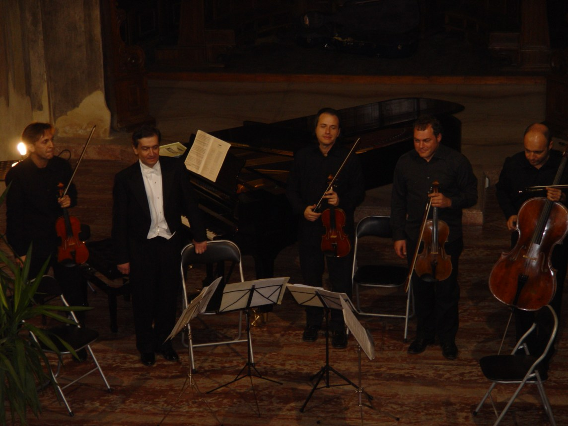 Oratorio di San Cristoforo - Piacenza, Italy - as a soloist with the Chamber Ensemble 'I Solisti Ciampi'