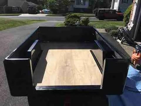 Jeep Trailer Dinoot Customer Build Tub Kit