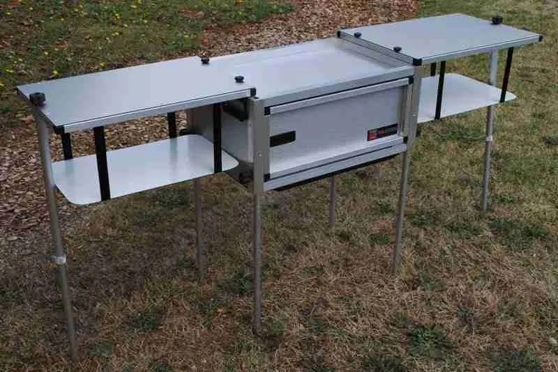 Jeep Trailer Portable Camping Kitchen