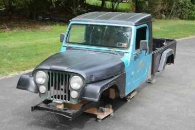 DIY Jeep truck Bed Kit