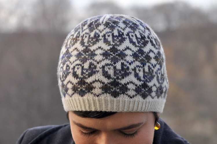 Argyle Birds Hat