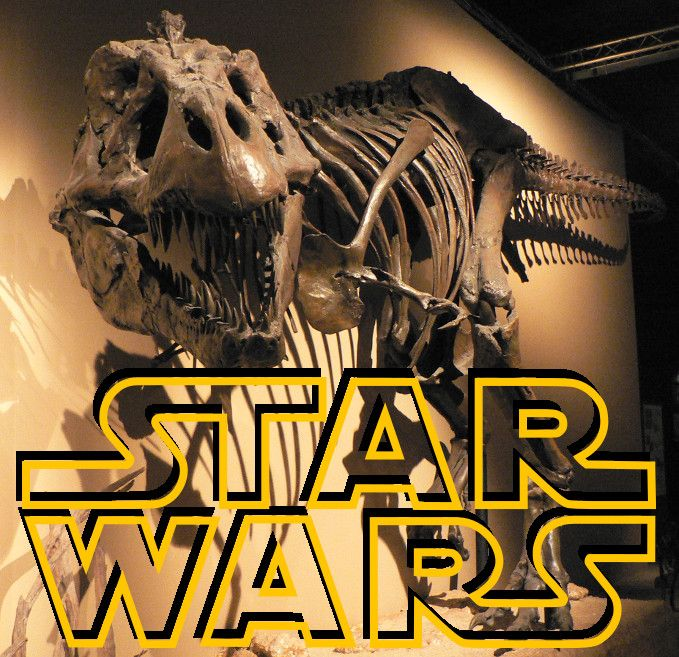 star wars and dinosaurs