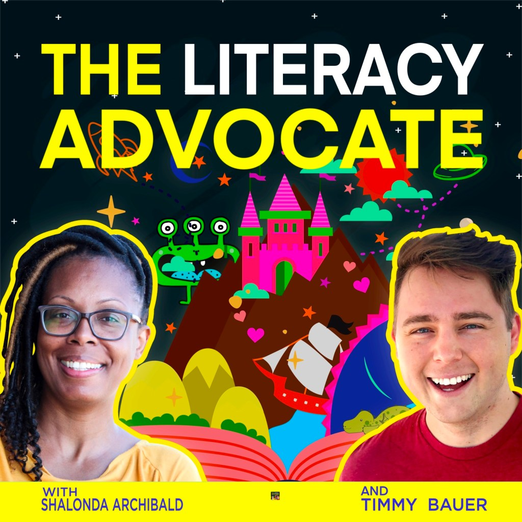 The Literacy Advocate Cover