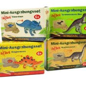 Spiegelburg 12396 Mini-Ausgrabungsset Dinosaurier-Figur T-Rex World, sortiert-Preis für 1 Stück