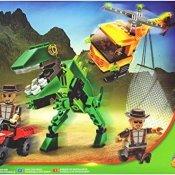 Block Tech - Dino Park - Dino Patrol - 191-teiliges Dinosaurier Konstruktionsspielzeug [UK Import] - 1
