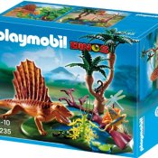 PLAYMOBIL 5235 - Dimetrodon mit Wasserstelle - 1