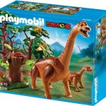 PLAYMOBIL 5231 - Brachiosaurus mit Baby - 1