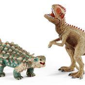 Schleich® Spielfigurenset, »Dinosaurier - Saichania und Giganotosaurus, klein« (2tlg.)