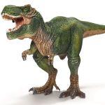 Schleich Große Dinosaurier Nr. 14525 TYRANNOSAURUS REX dunkelgrün Neu !