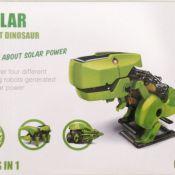 Solar Dinosaurier, Experimentier-Set Sonnenenergie, 4 Solar-Roboter
