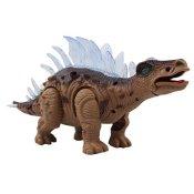 Yier® Elektronisches Spielzeug Grau Gehen Dinosaurier Stegosaurus