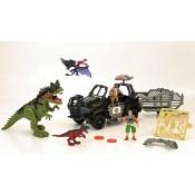 Animal Zone - Spielset Fahrzeuge mit Dino - 1