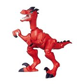 Jurassic World Hero Mashers Velociraptor (Rot) Action Figur [UK Import]