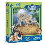 Geoworld CL1667K - Dr. Steve Hunters: Dino Ausgrabungs-Set - Stegosaurus-Skelett, Alter: 6+, größe: 28 cm