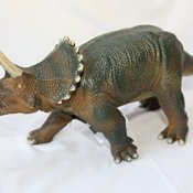 Dinosaurier Triceratops Kunststoff-Modell Premium Edition (Japan-Import)