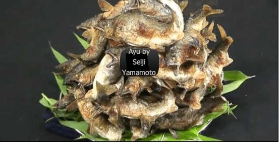 A arte de preparar o peixe Ayu - Seiji Yamamoto