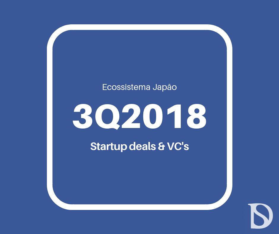 Startups no Japao 3Q 2018