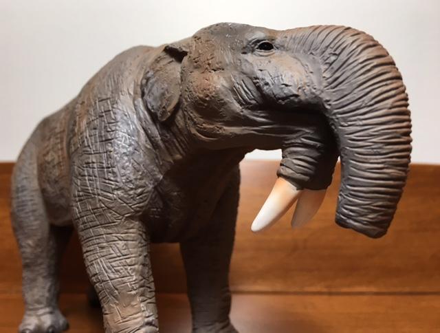 Deinotherium Figure Model Bullyland Rare Tusk Elephant