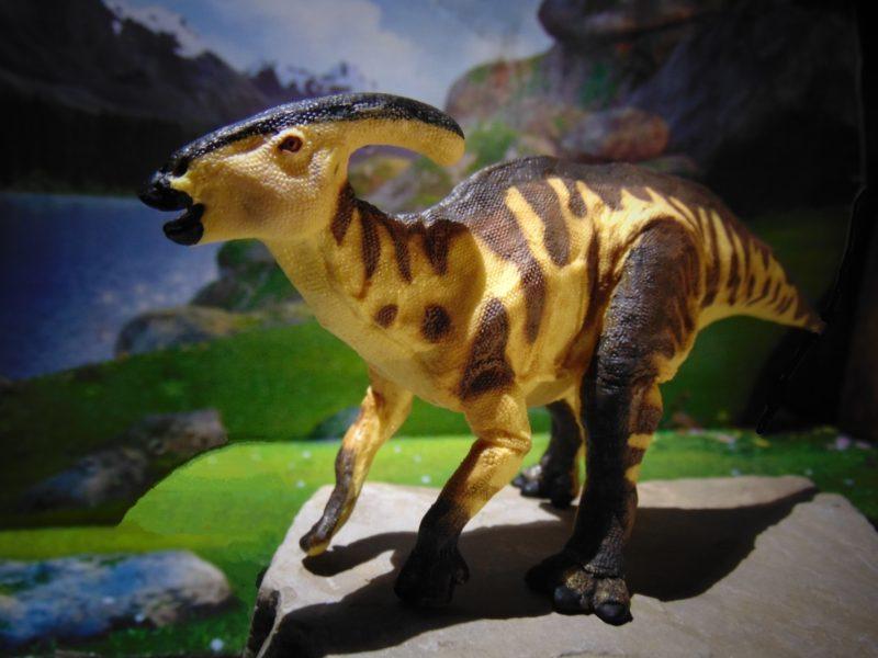 Parasaurolophus 2017 Tyrannosaurus prey Dinosaur Hadrosaur Safari