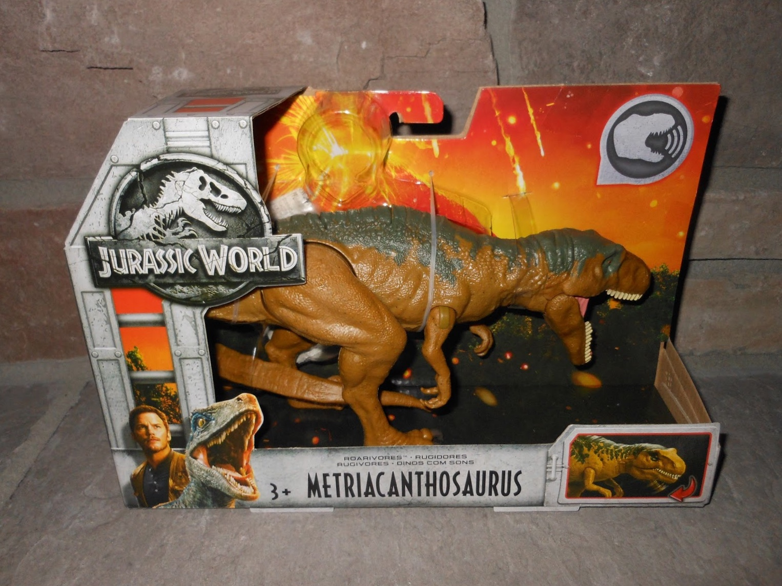 LIMITED Jurassic World Dinosaur Toy Fallen Kingdom Toys Velociraptor Orange NEW