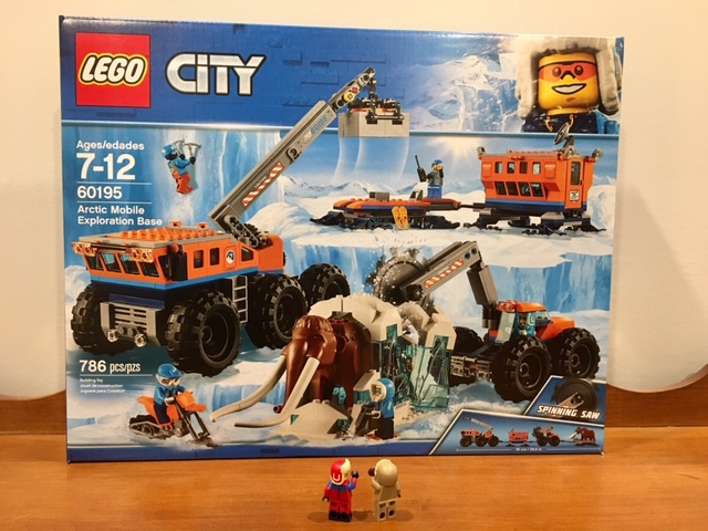 LEGO 60195 Woolly Mammoth from Lego City Arctic Exploration set Preowned Genuine