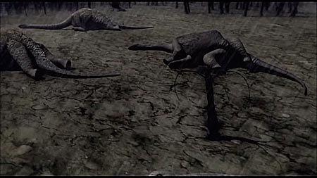 Динозавры жили в одно время с людьми?