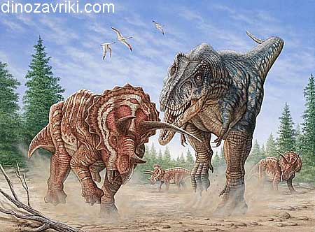 Динозавр с воротником: трицератопс