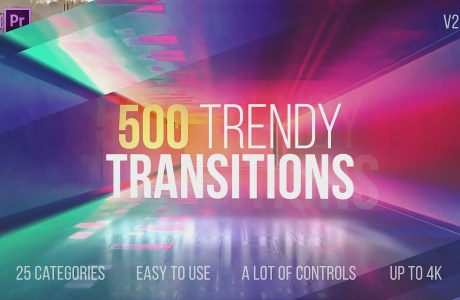 500 trendy transition