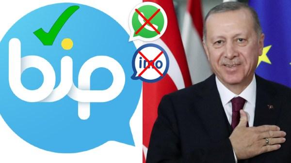 BiP-Whatsapp-Imo-Erdogan-Turkey