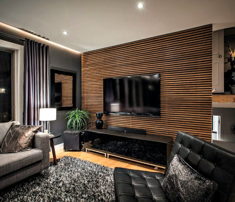 Grey Tv Room Ideas