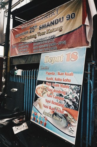 Depot 18 is the name of this small resto