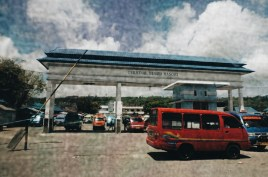 Gerbang Pelabuhan Amahai