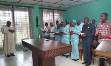 Diocèse d'idiofa : attente de la commémoration de la résurrection de notre Seigneur en Eglise