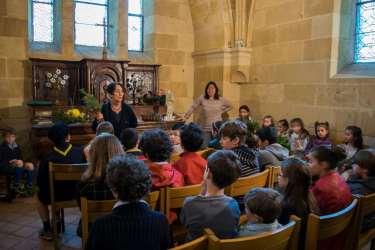 Bergerac - Les enfants vivent la messe des rameaux
