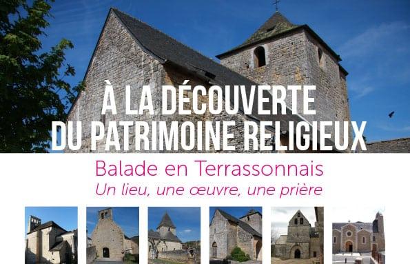 Découvrir le patrimoine religieux du Terrassonnais
