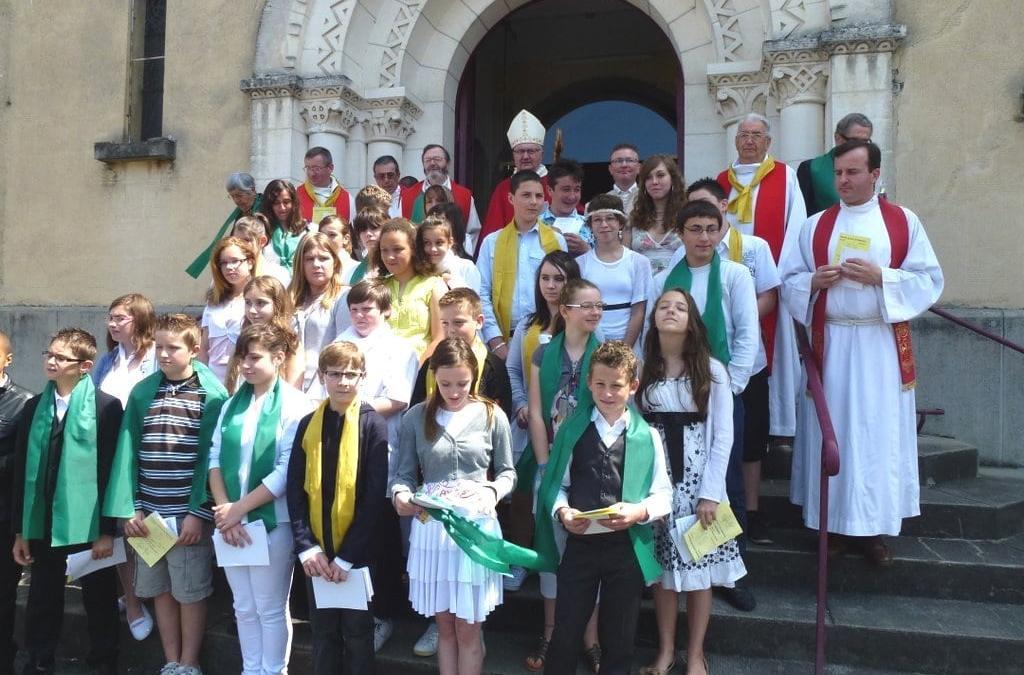 Pentecôte 2012 pour l'Ensemble Pastoral du Ribéracois