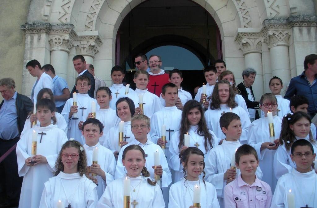 Communions solennelles et profession de foi à Ribérac (8 et 15 juin)