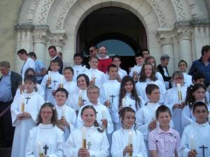 communion sollennelle à Ribérac