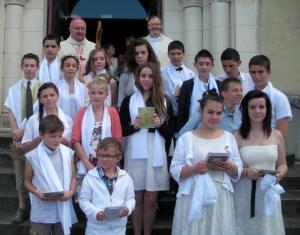 professions de foi à Ribérac