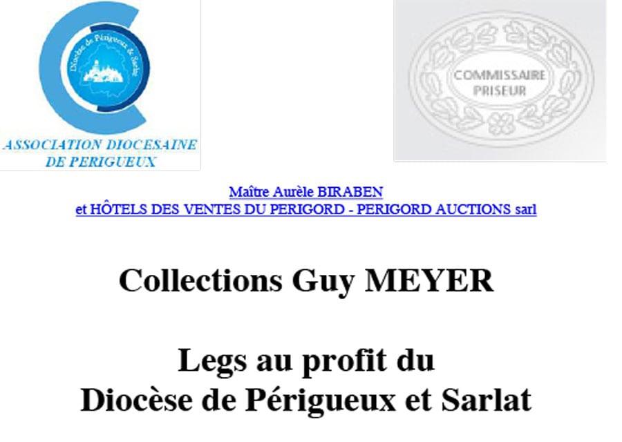 Vente aux enchères au profit du diocèse le 29 avril à Périgueux