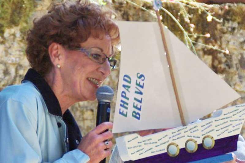 Annie Garrigue, responsable des aumôneries en milieu hospitalier
