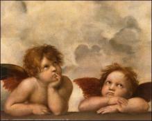 Les anges de Léonard de Vinci